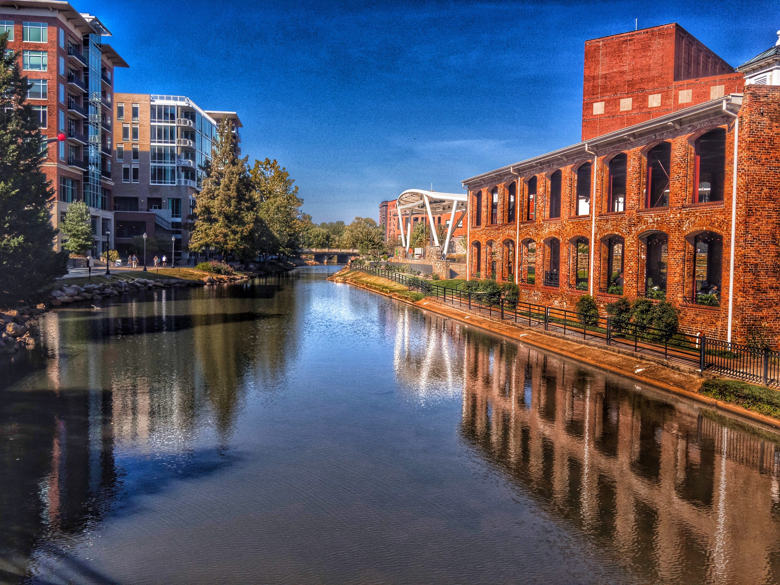 The Reedy River, Greenville, South Carolina