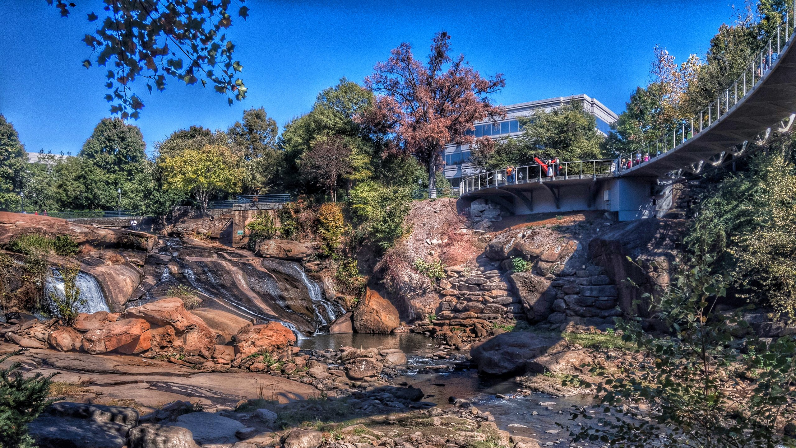 Reedy River Falls, Greenville, South Carolina