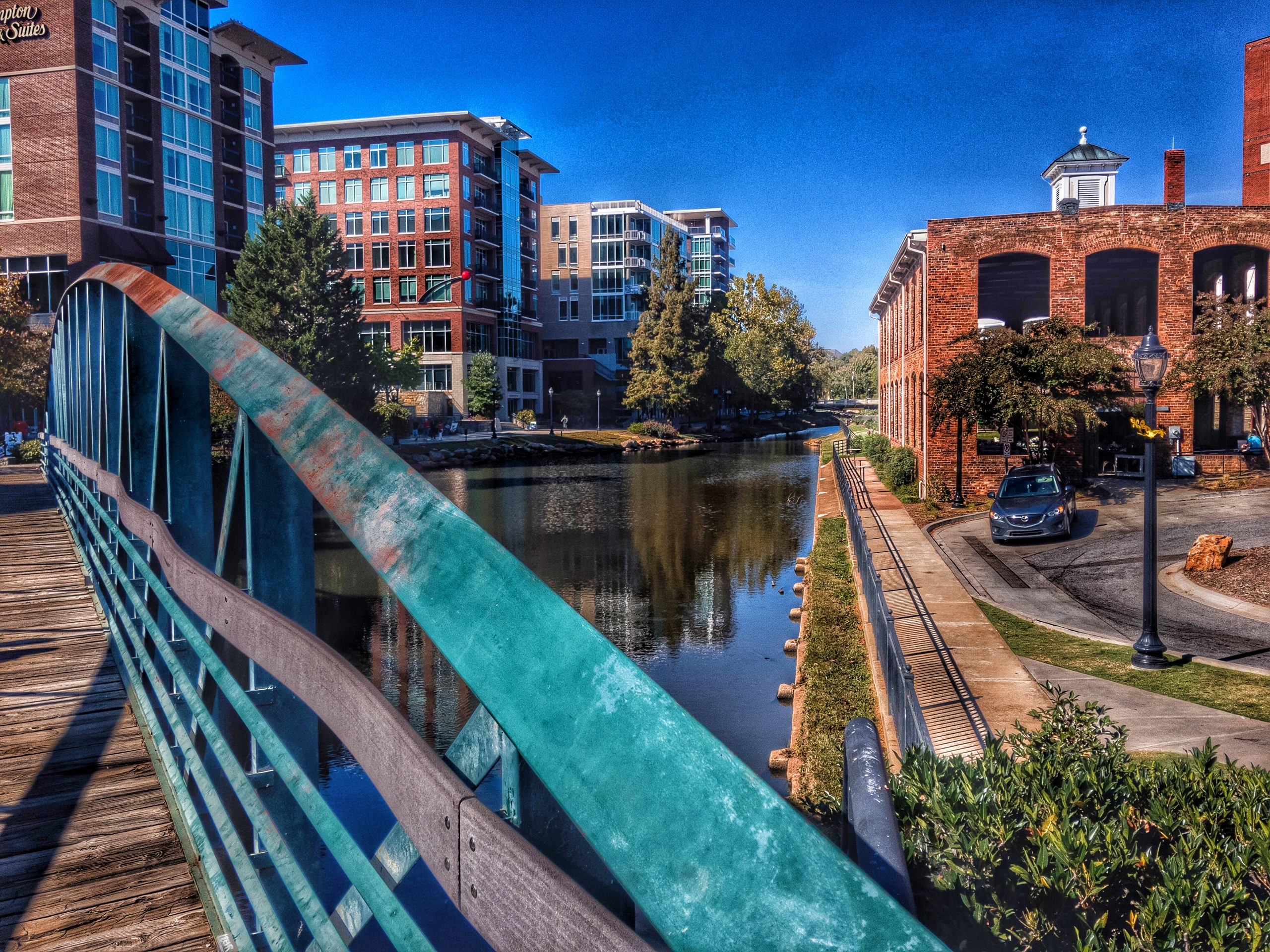 Reedy River, Greenville, South Carolina