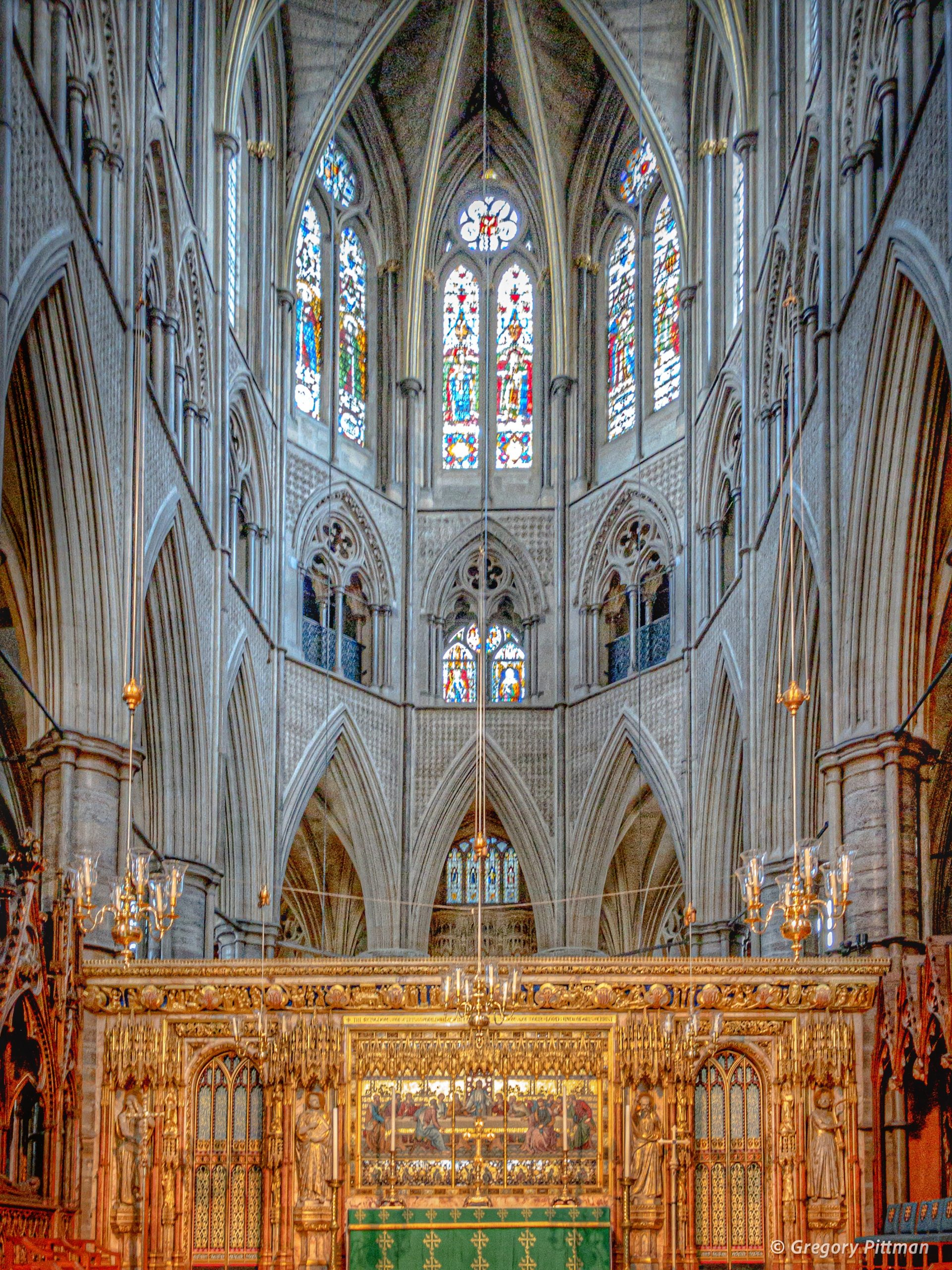 The High Altar, Westminster Abbey, London, England